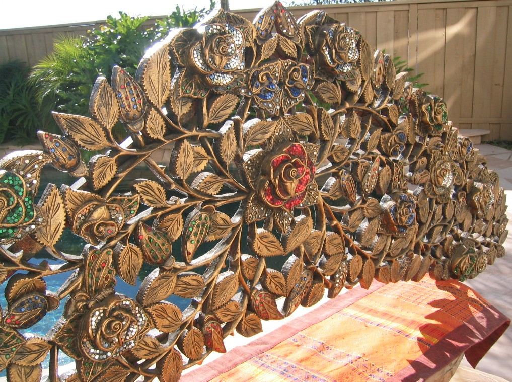 Rose & Vines Headboard