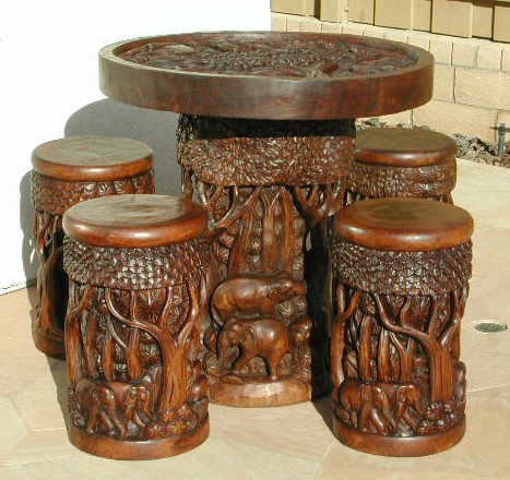 Lovely ... Hand Carved Furniture Set ...