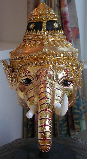 Thai Khon Mask Ganesh