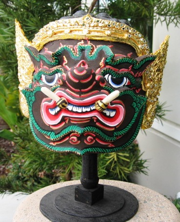 Thai Khon Mask Phra Pipek