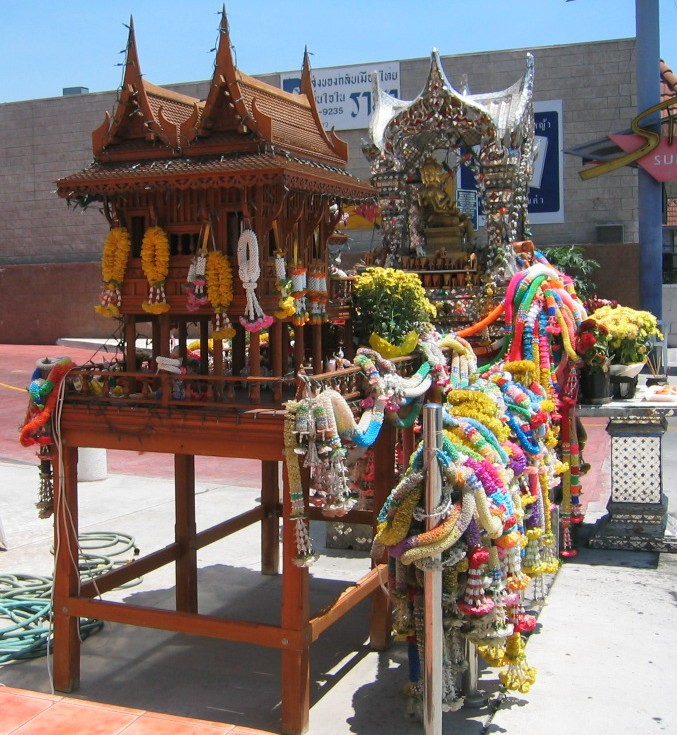 Spirit House in Los Angeles Thai Town