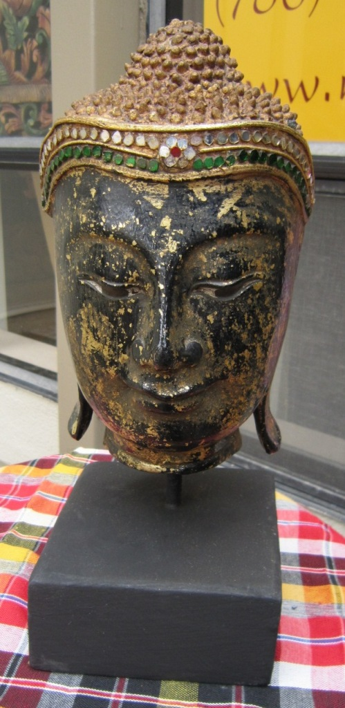 Buddha Head on a stand