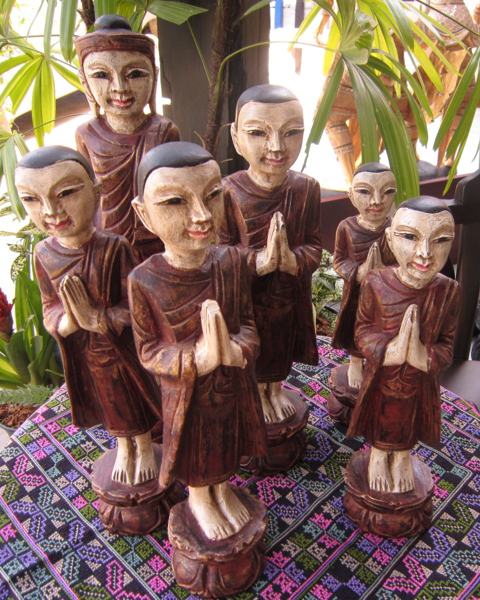 Set of Buddha and Disciples