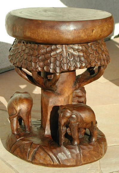 Tree of Life Stool