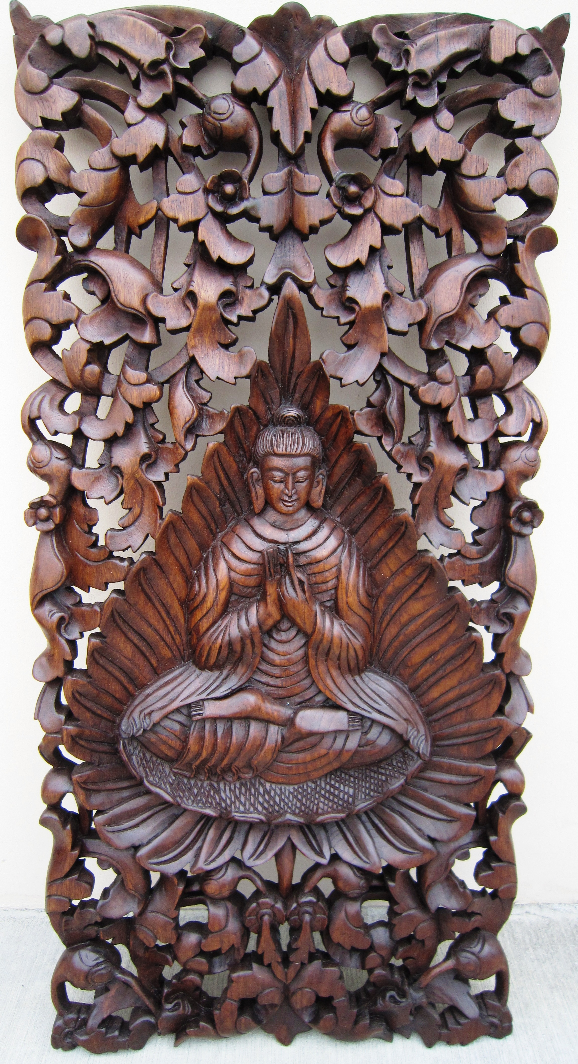 Buddha under Bodhi Tree Panel