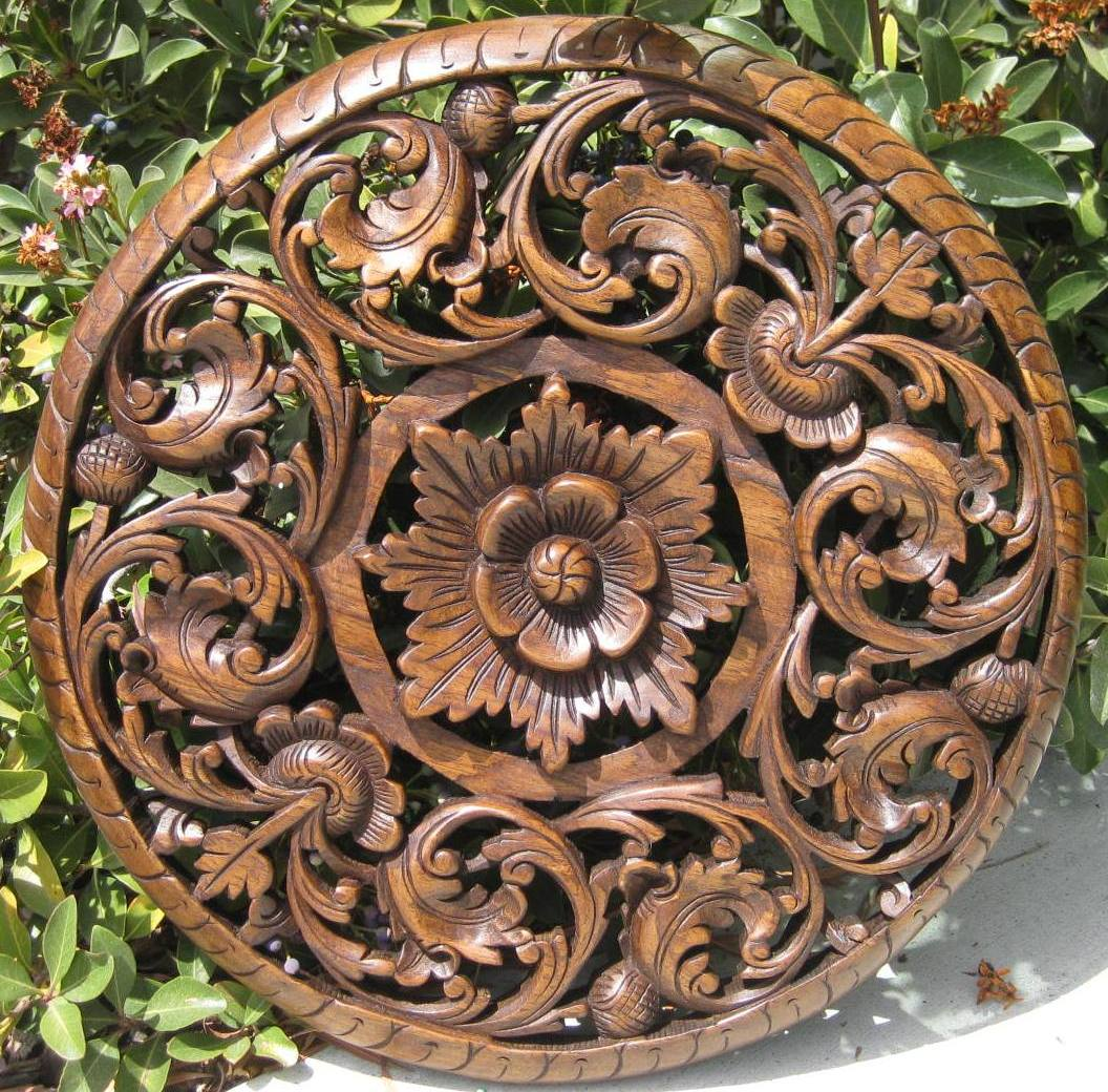 The gallery for gt wood carving designs flower