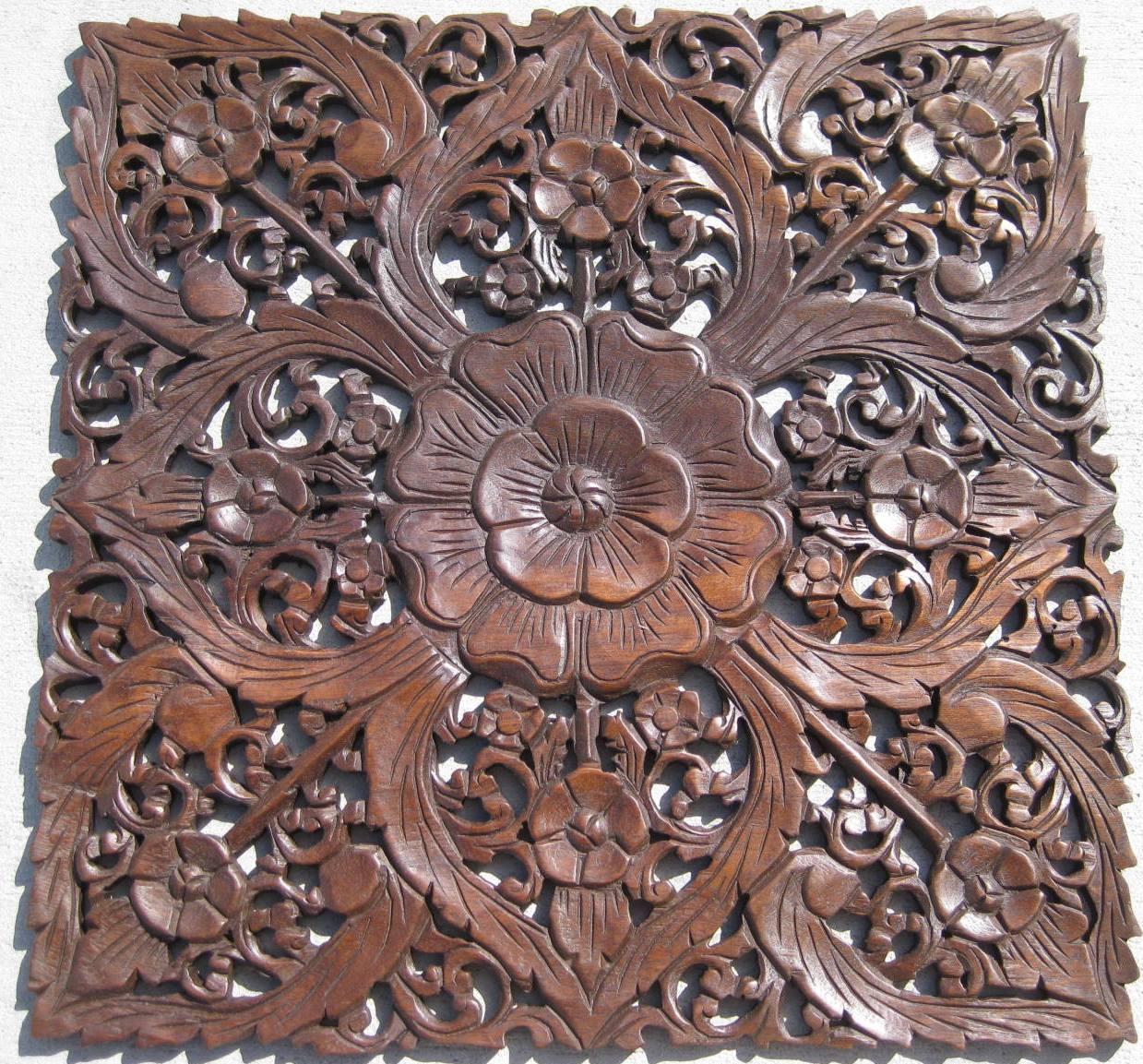 Teak Wood Paneling ~ Two ft teak wood panel