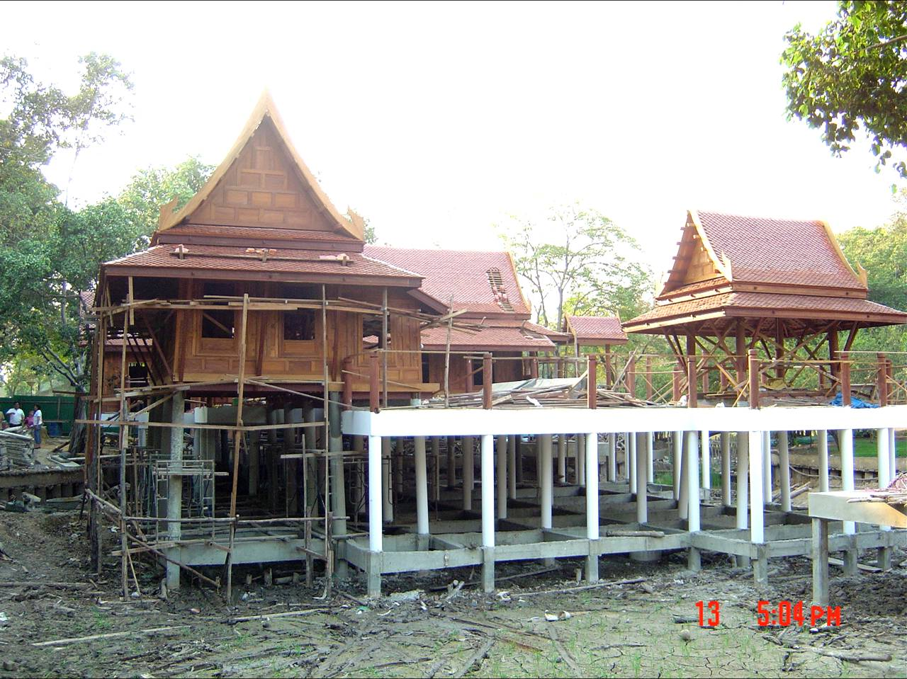 Traditional Thai House Construction Procedure
