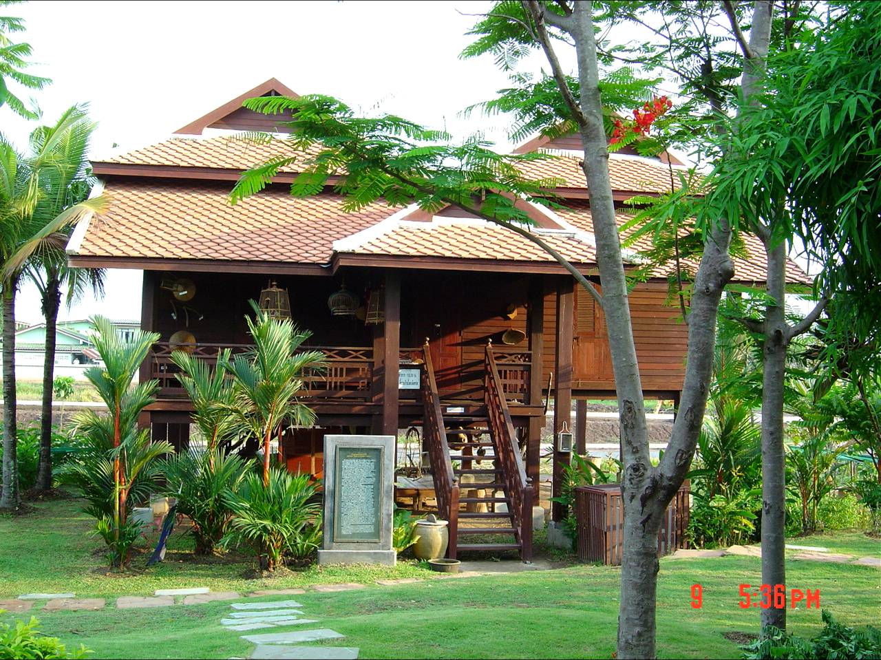 Traditional thai house · traditional thai house