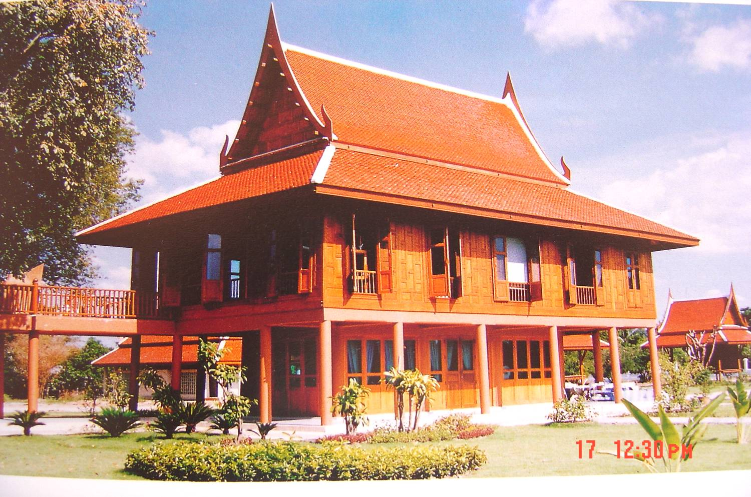 Traditional thai house plans for Home designs thailand